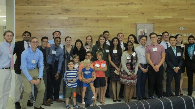 MHP - current and past MHP alumni group photo.